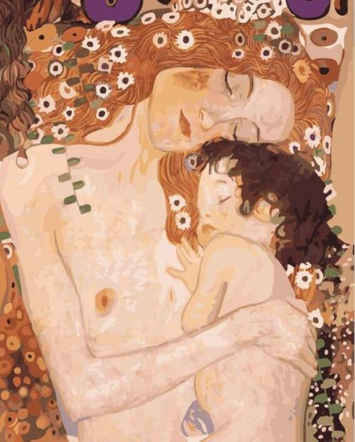 Klimt mom and child