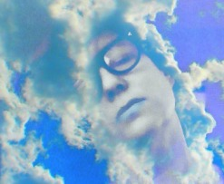 Me in the clouds